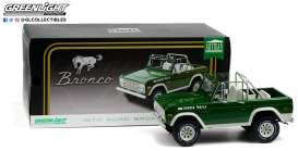 Ford  - Bronco *Buster* 1975 green - 1:18 - GreenLight - 19084 - gl19084 | Toms Modelautos