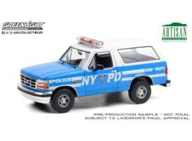 Ford  - Bronco 1992  - 1:18 - GreenLight - 19087 - gl19087 | Toms Modelautos