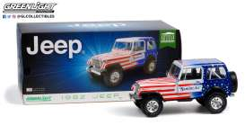 Jeep  - CJ-7 1982 white/red/blue - 1:18 - GreenLight - 19090 - gl19090 | Toms Modelautos