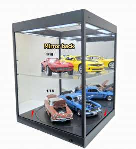 Accessoires diorama - 2018 black/mirror - 1:18 - Triple9 Collection - 69929Mbk - T9-69929Mbk | Toms Modelautos