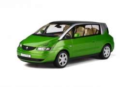 Renault  - Avantime 2003 green - 1:18 - OttOmobile Miniatures - 815 - otto815 | Toms Modelautos