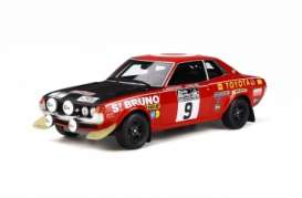 Toyota  - Celica 1600 red/black - 1:18 - OttOmobile Miniatures - 274 - otto274 | Toms Modelautos