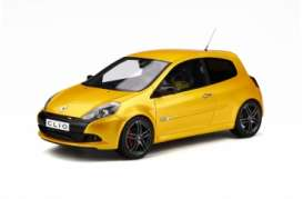 Renault  - Clio 2010 yellow - 1:18 - OttOmobile Miniatures - 350 - otto350 | Toms Modelautos