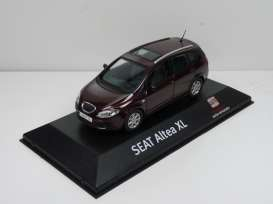 Seat  - Altea XL dark red - 1:43 - Seat Auto Emocion - 17 - seat17 | Toms Modelautos