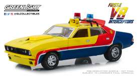 Ford  - Falcon XB V8 Interceptor 1974 yellow/blue/red - 1:18 - GreenLight - 13574 - gl13574 | Toms Modelautos