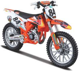 KTM  - orange - 1:18 - Bburago - 51081 - bura51081 | Toms Modelautos