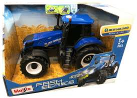 New Holland  - Farm Tractor blue/black - 1:16 - Maisto - 82231 - mai82231 | Toms Modelautos