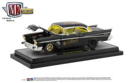 Chevrolet  - 210 1957 black/yellow - 1:24 - M2 Machines - 40300-73A - M2-40300-73A | Toms Modelautos