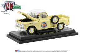 Chevrolet  - Apache 1958 yellow/white - 1:24 - M2 Machines - 40300-73B - M2-40300-73B | Toms Modelautos