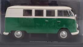 Volkswagen  - Type 1 1960 green/white - 1:24 - Magazine Models - 24VW - mag24VWT1 | Toms Modelautos