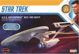 Star Trek  - NCC-1701 Refit  - 1:1000 - Polar Lights - POL0974 - plls0974 | Toms Modelautos