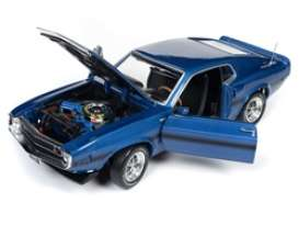 Shelby Mustang - GT350 1969 blue - 1:18 - Auto World - AMM1188 - AMM1188 | Toms Modelautos