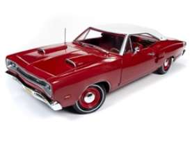 Dodge  - Super Bee 1969 red - 1:18 - Auto World - AMM1191 - AMM1191 | Toms Modelautos