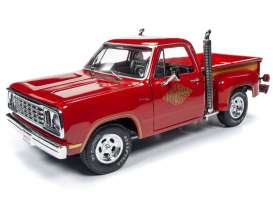 Dodge  - Pickup 1978 red - 1:18 - Auto World - AMM1194 - AMM1194 | Toms Modelautos