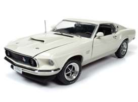 Ford  - Mustang 1970 white - 1:18 - Auto World - AMM1196 - AMM1196 | Toms Modelautos