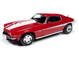 Chevrolet  - Camaro 1971 red - 1:18 - Auto World - AMM1197 - AMM1197 | Toms Modelautos