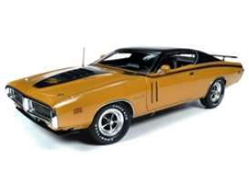 Dodge  - Charger 1971 butterscotch - 1:18 - Auto World - AMM1210 - AMM1210 | Toms Modelautos
