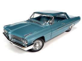 Pontiac  - Royal 1962 aquamarine - 1:18 - Auto World - AMM1212 - AMM1212 | Toms Modelautos