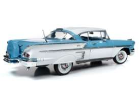 Chevrolet  - Bel Air 1958 blue - 1:18 - Auto World - AMM1216 - AMM1216 | Toms Modelautos
