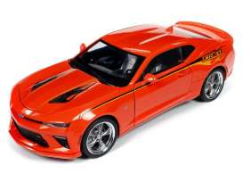 Chevrolet  - Camaro 2016 orange - 1:18 - Auto World - 256 - AW256 | Toms Modelautos