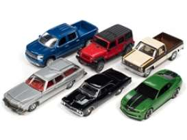 Assortment/ Mix  - various - 1:64 - Auto World - 64252A~6 - AW64252A | Toms Modelautos