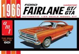 Ford  - Fairlane 1966  - 1:25 - AMT - s1091 - amts1091 | Toms Modelautos