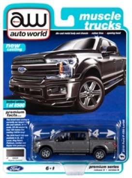 Ford  - F150 black - 1:64 - Auto World - SP029B - AWSP029B | Toms Modelautos
