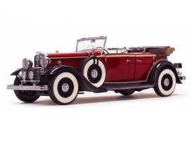 Ford Lincoln - 1934 rebelite red - 1:18 - SunStar - 6166 - sun6166 | Toms Modelautos