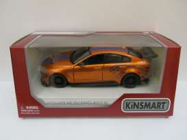Jaguar  - XE SV Project 8 2018 orange - 1:36 - Kinsmart - 5416WF - KT5416WFo | Toms Modelautos