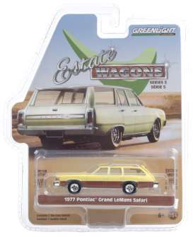 Pontiac  - Grand 1977 yellow - 1:64 - GreenLight - 29990E - gl29990E | Toms Modelautos