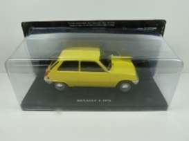 Renault  - 1972 yellow - 1:24 - Magazine Models - 24Re5 - mag24Re5 | Toms Modelautos