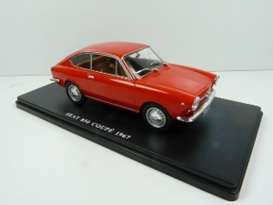 Seat  - 850 Coupe 1967 red - 1:24 - Magazine Models - 24Seat850 - mag24Seat850 | Toms Modelautos