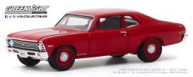 Chevrolet  - Copo Nova 1968 red - 1:64 - GreenLight - 37200C - gl37200C | Toms Modelautos