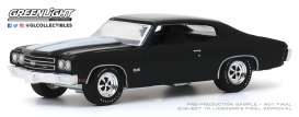 Chevrolet  - Chevelle 1970 black - 1:64 - GreenLight - 37200D - gl37200D | Toms Modelautos