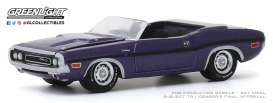 Dodge  - Challenger 1970 purple - 1:64 - GreenLight - 37200E - gl37200E | Toms Modelautos
