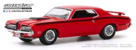 Mercury  - Cougar 1970 red - 1:64 - GreenLight - 37200F - gl37200F | Toms Modelautos