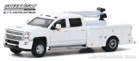 Chevrolet  - Silverado 2016 white - 1:64 - GreenLight - 46040A - gl46040A | Toms Modelautos