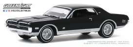 Mercury  - Cougar 1968 black - 1:64 - GreenLight - 13270B - gl13270B | Toms Modelautos