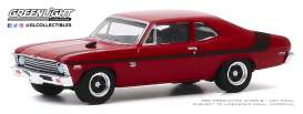 Chevrolet  - Nova Yenko 1971 orange - 1:64 - GreenLight - 13270E - gl13270E | Toms Modelautos
