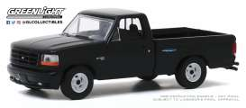 Ford  - F-150 1993 black - 1:64 - GreenLight - 13270F - gl13270F | Toms Modelautos