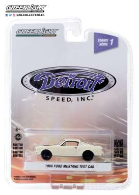 Ford  - Mustang 1966 white - 1:64 - GreenLight - 39040A - gl39040A | Toms Modelautos