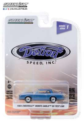Chevrolet  - Monte SS 1984 blue - 1:64 - GreenLight - 39040B - gl39040B | Toms Modelautos