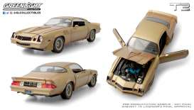 Chevrolet  - Camaro Z28 1979 gold/brown - 1:18 - GreenLight - 13573 - gl13573 | Toms Modelautos