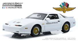 Pontiac  - Turbo 1989 white - 1:18 - GreenLight - 13576 - gl13576 | Toms Modelautos