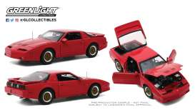 Pontiac  - Turbo 1988 red - 1:18 - GreenLight - 13577 - gl13577 | Toms Modelautos