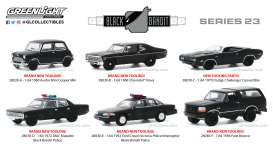 Assortment/ Mix  - black - 1:64 - GreenLight - 28030 - gl28030 | Toms Modelautos