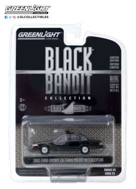 Ford  - Crown Victoria 1992 black - 1:64 - GreenLight - 28030E - gl28030E | Toms Modelautos