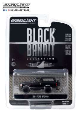 Ford  - Bronco 1994 black - 1:64 - GreenLight - 28030F - gl28030F | Toms Modelautos