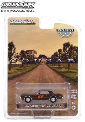 Mercury  - Cougar 1967 brown - 1:64 - GreenLight - 30183 - gl30183 | Toms Modelautos