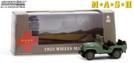 Willys  - M38 A1 1952  - 1:43 - GreenLight - 86590 - gl86590 | Toms Modelautos